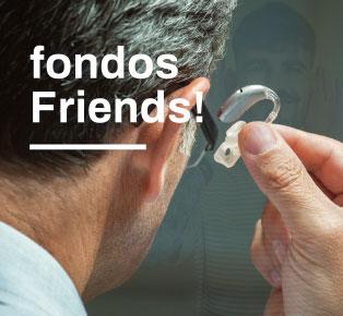 Fondos Friends - Hörgerätversicherung